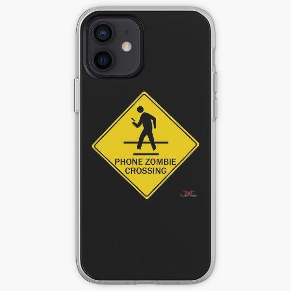 Phone Zombie Crosswalk Sign iPhone Soft Case