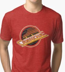Vancouver Canucks Retro Tri-blend T-Shirt