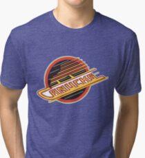 Vancouver Canucks Retro Tri-blend T-Shirt