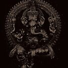 Ganesha : Dark by ramanandr