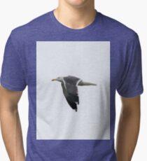 Seagull in Flight  Tri-blend T-Shirt