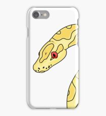 Curious Ball Python iPhone Case/Skin