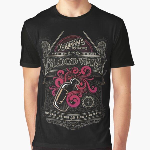 Yharnam's Blood Vials Graphic T-Shirt