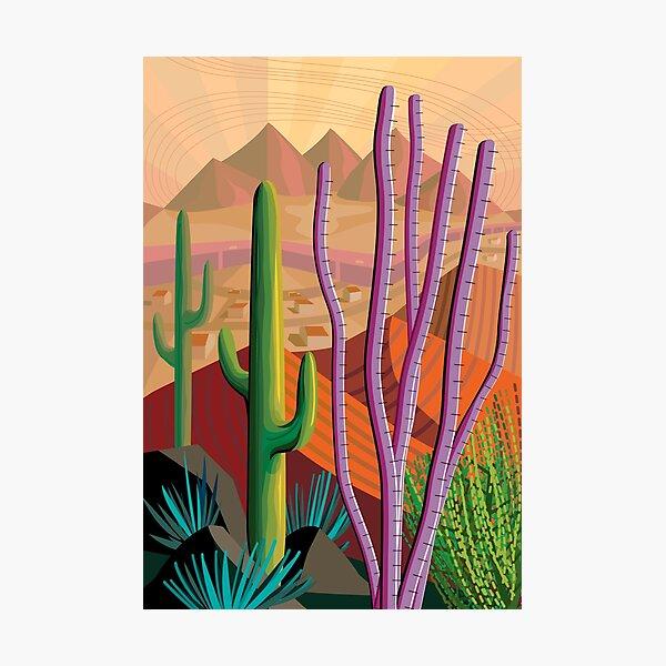 Tucson Photographic Print
