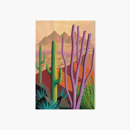 Tucson Art Board Print