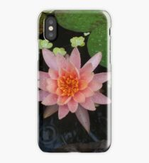 Water lilly after the rain. iPhone Case/Skin