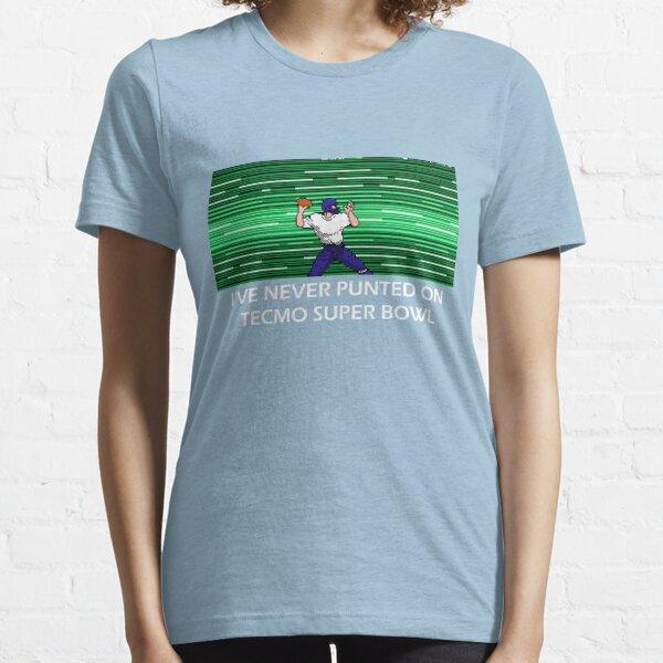 NES Super Bowl de Nintendo Tecmo que nunca puse Camiseta esencial