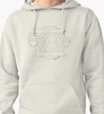 Minimal Rick and Morty Pullover Hoodie