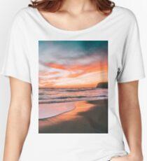 Landscape 4. Women's Relaxed Fit T-Shirt