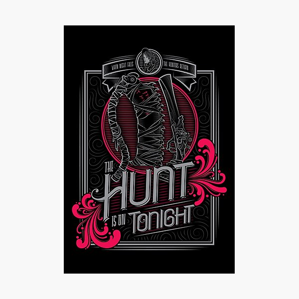 The Hunt Photographic Print