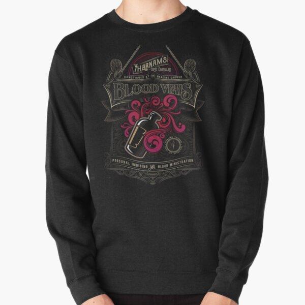 Yharnam's Blood Vials Pullover Sweatshirt