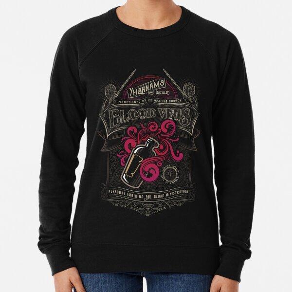Yharnam's Blood Vials Lightweight Sweatshirt