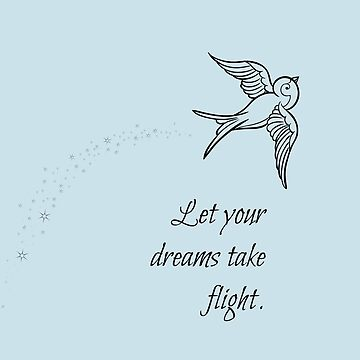 Let your dreams take flight by daydreamatnight