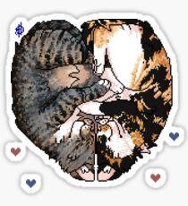 Cuddle Puddle Sticker