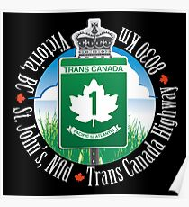 Trans Canada Highway Poster