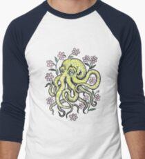 Octo-flower-pus Men's Baseball ¾ T-Shirt