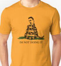 """Jordan Peterson - """"Ich tue es nicht"""" Slim Fit T-Shirt"""