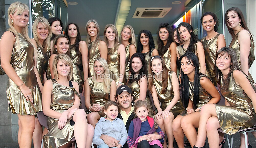 Vince Colosimo meets 21 Finalist Miss Italia-Australia by Rosina  Lamberti