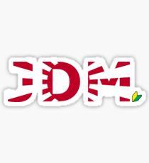 JDM Japanese Domestic Market Sticker