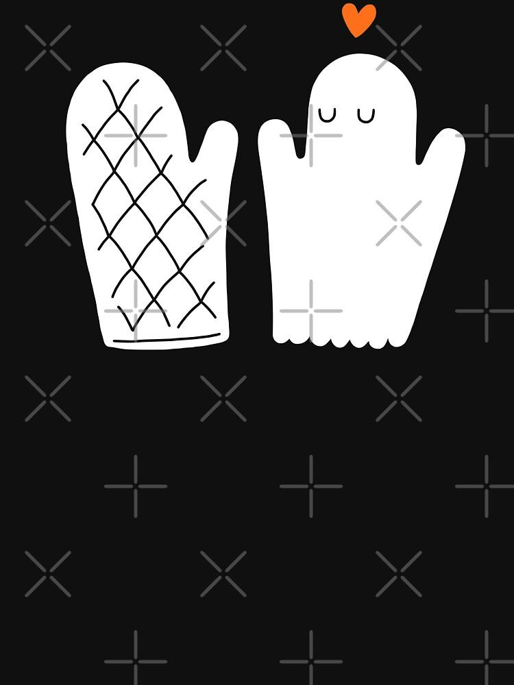 Oven Mitt & Ghost by obinsun