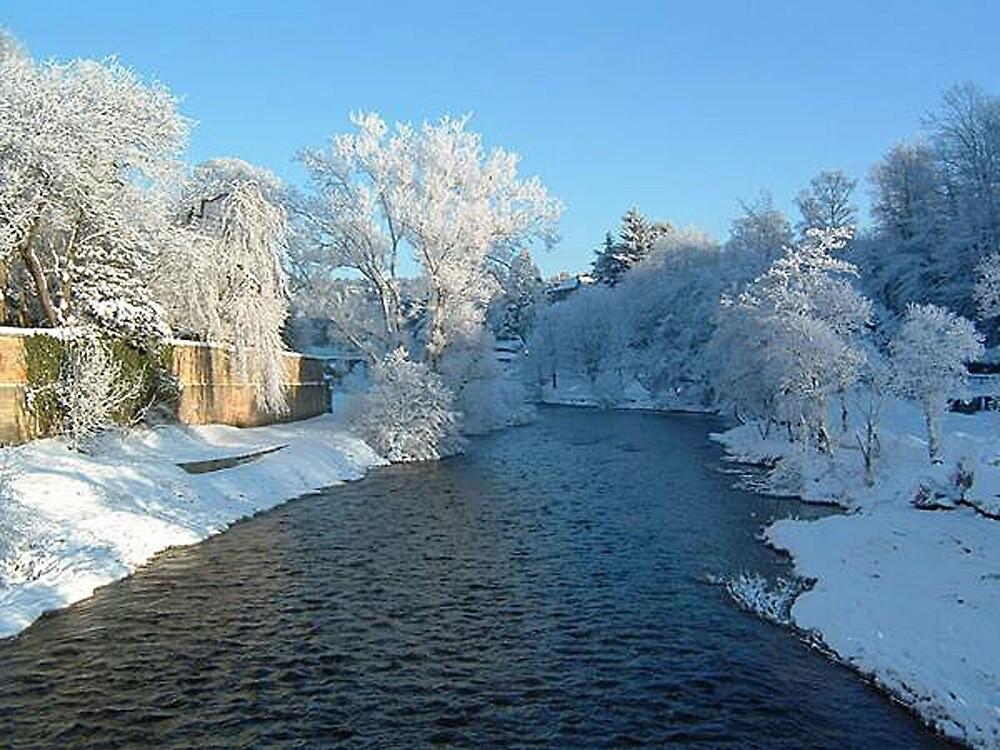 River Coquet in Winter by EternalRainbow