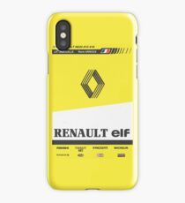 Formula 1 - Renault RE20 iPhone Case/Skin