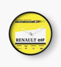 Formula 1 - Renault RE20 Clock