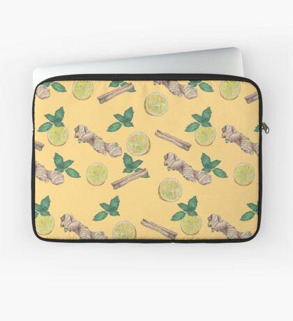 ginger lemon tea! Laptop Sleeve