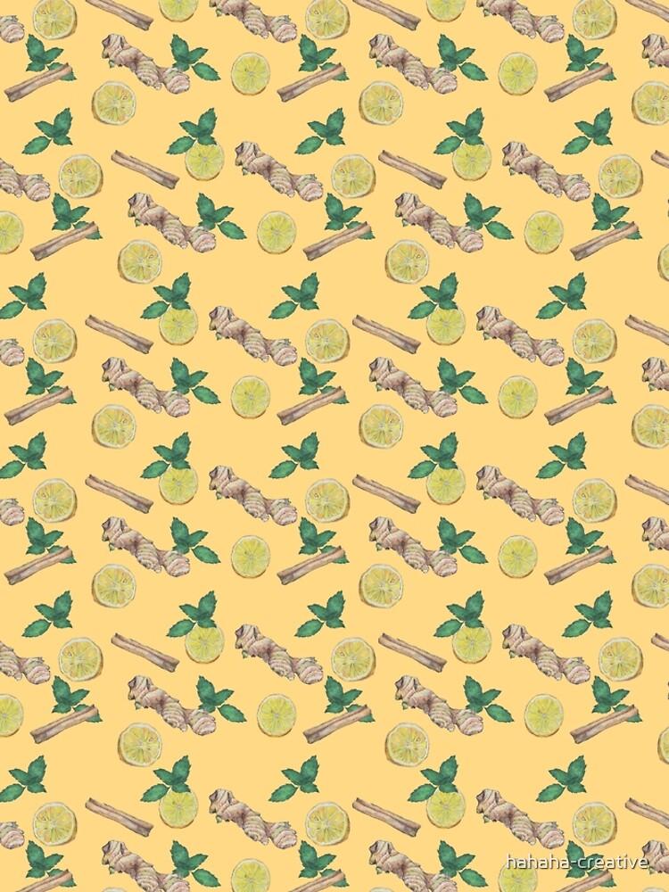 ginger lemon tea! by hahaha-creative