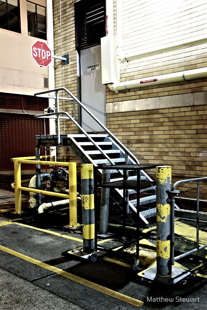 Stop/Stairs by Matthew Stewart
