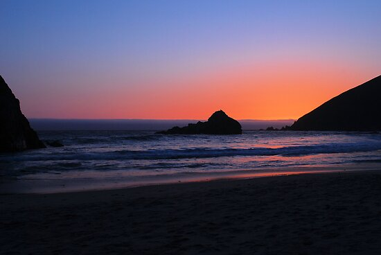 Big Sur sunset 1 by Lenny La Rue, IPA