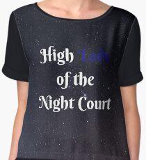 High Lady of the Night Court Chiffon Top