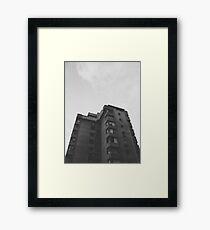 Brutalism #1 Framed Print