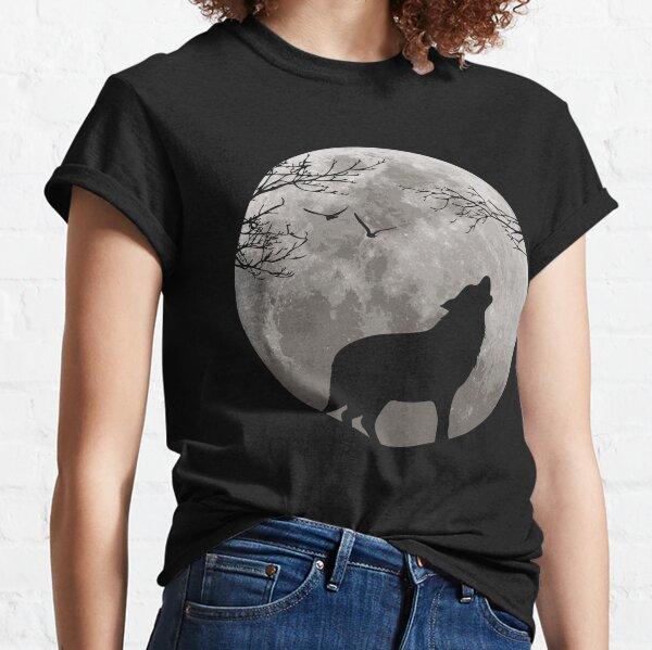 Loup hurleur T-shirt classique