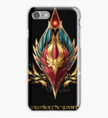 Blood elf emblem  iPhone Case/Skin