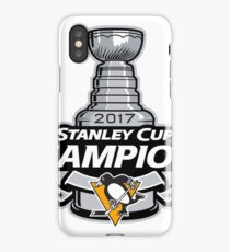Pittsburgh Penguins 2017 Stanley Cup iPhone Case/Skin