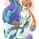 « Squiddy girls! » par Sedeto