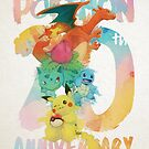 « pocket monsters 20th anniversary » par Sedeto