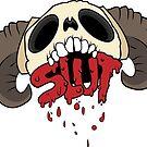 Skull + Slut by Zachatino