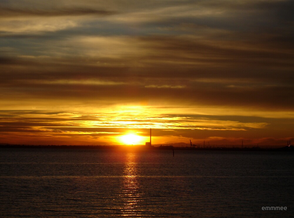 Sunset on the Bay by emmmee