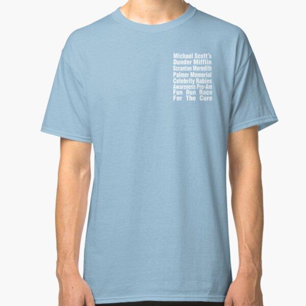 The Office T-Shirt - Michael Scott's Fun Run Race for the Cure Classic T-Shirt
