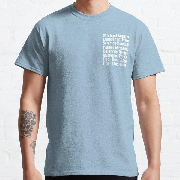 Das Office T-Shirt - Michael Scotts Fun Run Race for the Cure Classic T-Shirt