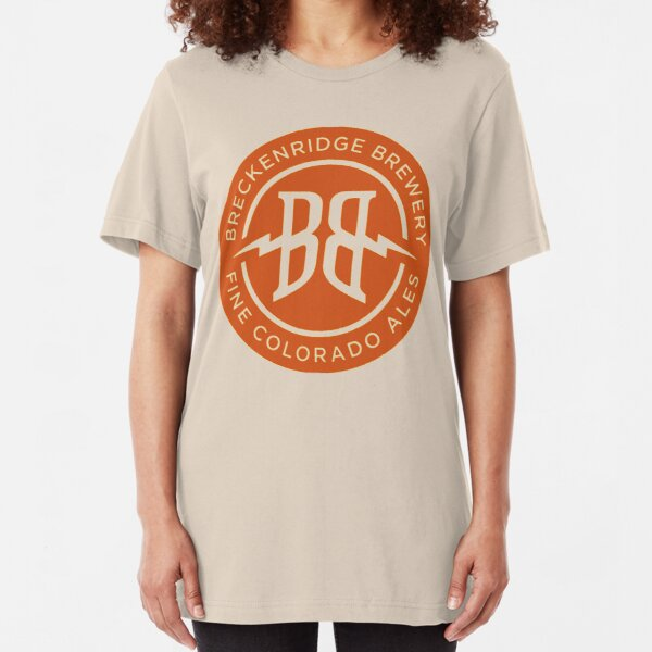 Breckenridge Brewery  Slim Fit T-Shirt