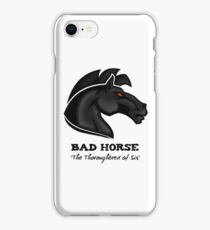 Bad Horse, Thoroughbred of Sin, Evil League of Evil iPhone Case/Skin