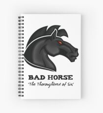 Bad Horse, Thoroughbred of Sin, Evil League of Evil Spiral Notebook
