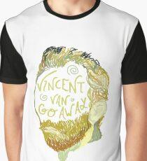 Vincent Van Gogh Away  Graphic T-Shirt