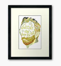 Vincent Van Gogh Away  Framed Print