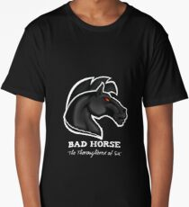 Bad Horse, Thoroughbred of Sin, Evil League of Evil Long T-Shirt