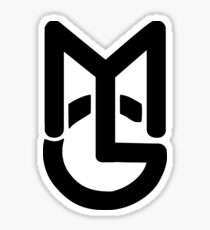 Macky Gee MG Sticker