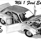 FORD ESCORT Mk1 RS1600 by Steve Pearcy